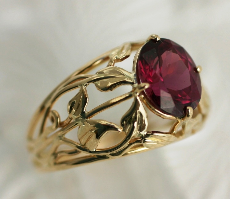 rhodolite by jewelry club harem ring garnet rental fine rings flont og pomellato from